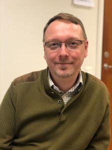 Mathias Fridholm är vd vid Svenskt Trä. Foto Nils Lindstrand, Nordiske Medier.